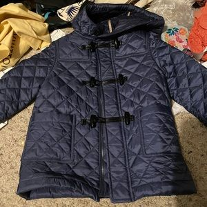 Burberry children quilted jacket size 3 years